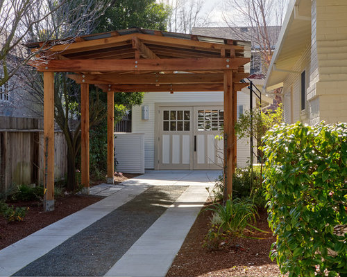 Pergola carport houzz