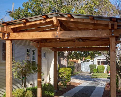 Pergola Carport Home Design Ideas Pictures Remodel And Decor
