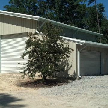 Pensacola   Steel Building   Garage
