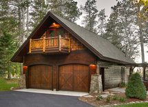 What's the width and depth of this beautiful garage?