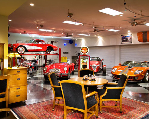 Classic Car Garage | Houzz