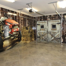 Rustic Garage And Shed by Van Alan Homes