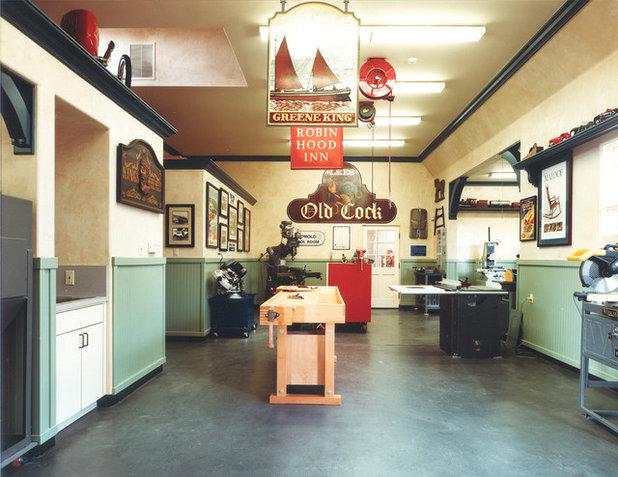 Traditional Garage by HartmanBaldwin Design/Build