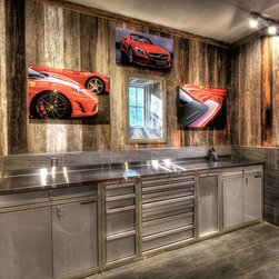 Garage Cabinets Garage and Shed Design Ideas, Pictures, Remodel and ...