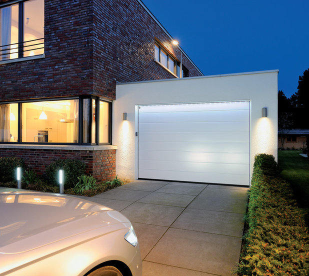Moderne Garage by A2B Menuiseries