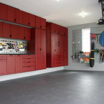 Powder Coated MDF Garage Cabinets