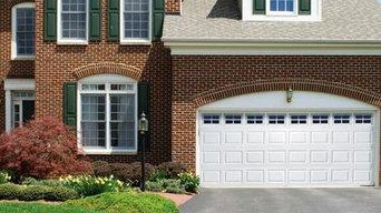 Premium Steel Insulated Garage Door with Colonial Inlay Glass Design