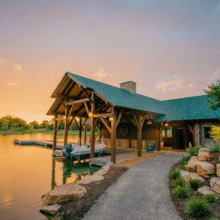 Boathouse - rustic boathouse idea in St Louis