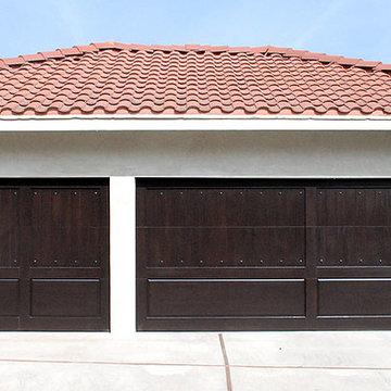 Rancho Palos Verdes Custom Garage Doors in ECO-Friendly Composite Wood Materials