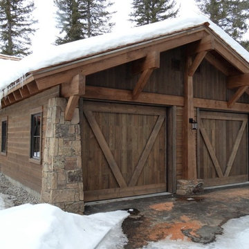 ranchwood™ Siding, Timbers, and Mountain Rustic Architectural Design