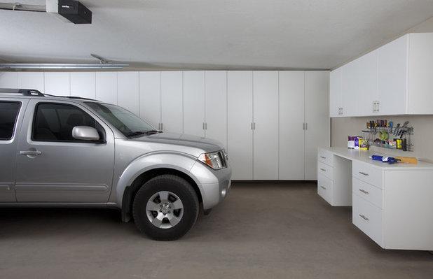 Contemporary Garage by Arizona Garage & Closet Design