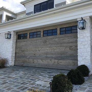 Reclaimed Wood Garage Doors - Modern Design