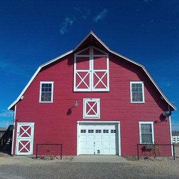 Red Barn Custom Garage