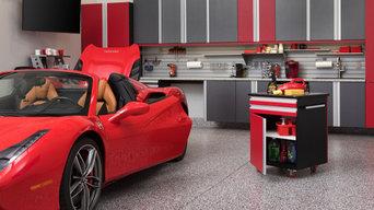 Red Ferrari Garage