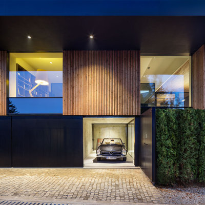 Contemporary Garage by Assen Emilov Photography
