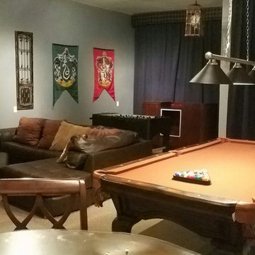 Reunion Home Theater and Game Areas