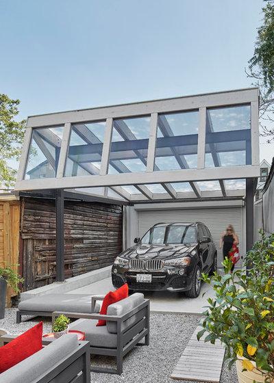 Skandinavisch Garage by ASQUITH Architecture