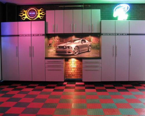 Route 66 garage mancave for Garage ad st coulomb