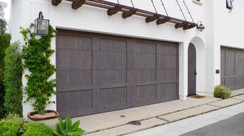 Rustic Cedar - Garage & Entry Doors - Newport Beach, CA