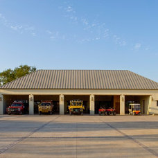 Mediterranean Garage And Shed by Leedy Interiors