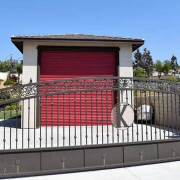 RV Garage and Custom gate