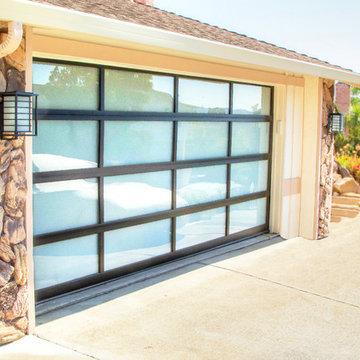 RW Garage Doors Aluminum & Glass Garage Door