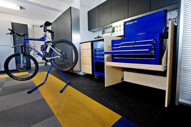 Contemporaneo Garage by Abodian Inc