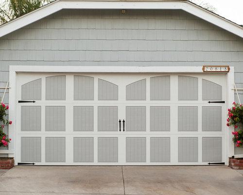 Santa Clarita Amarr Classica Gray Two Tone Garage Door