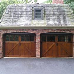 Sawmill Creek Swing Look Garage Doors -