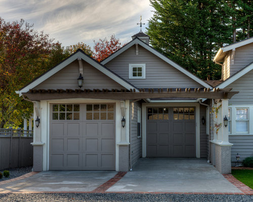 Staggered Garage Home Design Ideas Pictures Remodel And