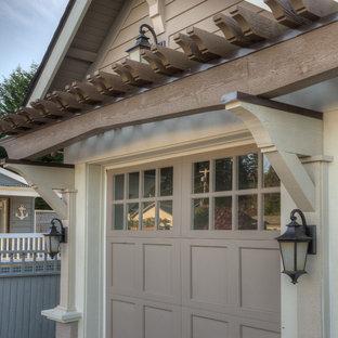 Inspiration for a craftsman garage remodel in Seattle