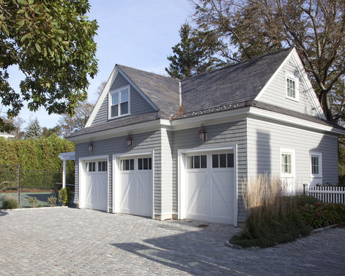 Inspiration For A Timeless Three Car Garage Remodel In Boston