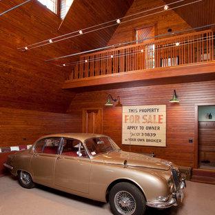 Esempio di grandi garage e rimesse indipendenti vittoriani