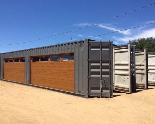Industriel pour trois voitures et plus photos et id es for Container garage voiture