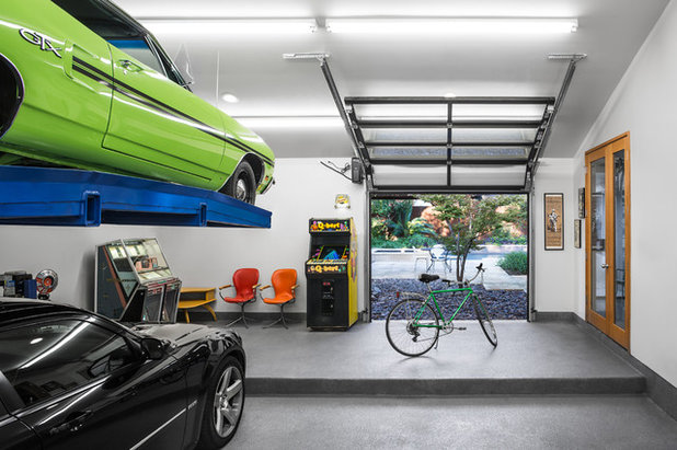 Contemporaneo Garage by A Parallel Architecture