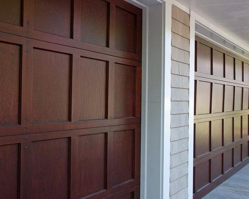 Sikkens oil finish garage door restoration for Garage door finishes