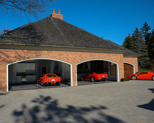 Custom 6 Car Garage Design