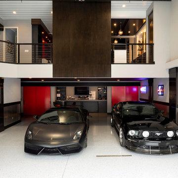 Sleek Medina Garage Condo Remodel