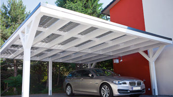 Solar Car Port - EV Charging and Home Electricity Generation