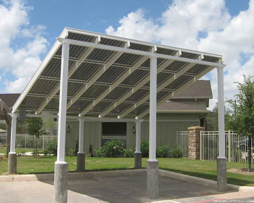 solar carport home design ideas pictures remodel and decor. Black Bedroom Furniture Sets. Home Design Ideas