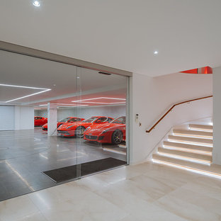 Design ideas for a modern attached garage in Perth.