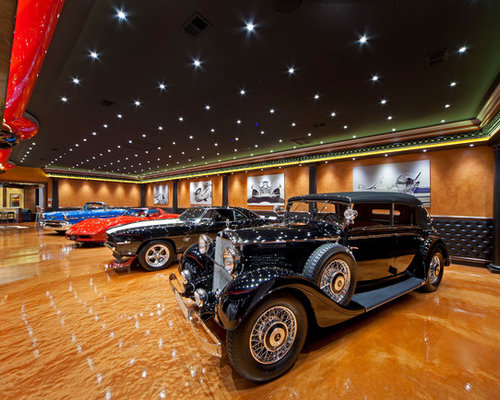 collector car garage ideas - Collector Car Showroom