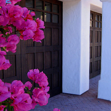 Spanish Carriage Style Garage Doors