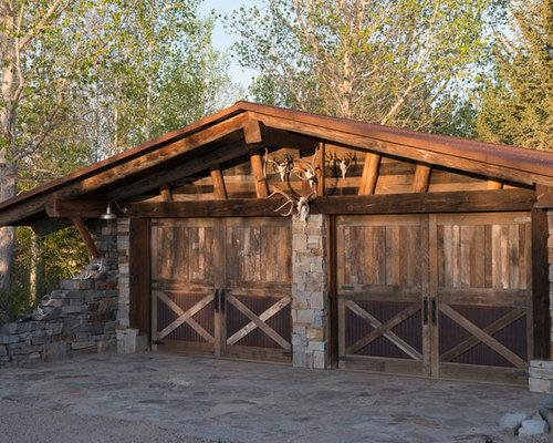 Rustic Garage Door Houzz