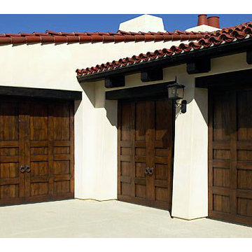 Stained Wood Doors