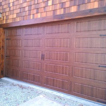 Steel Carriage House Doors