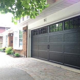 Idéer för en stor tillbyggd garage och förråd