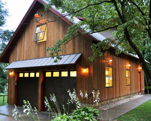 Rustic Barn Garage : Rustic garage and shed design ideas pictures remodel decor