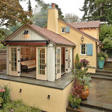 Traditional Exterior by Tim Andersen Architect