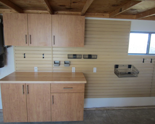 Garages Cabinets, Epoxy Flooring, Tile Flooring & Slatwall and ...